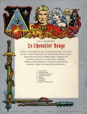 Verso de Le chevalier Rouge -7- Les fugitifs