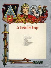 Verso de Le chevalier Rouge -9- La guilde des voleurs