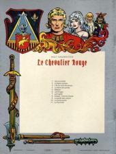 Verso de Le chevalier Rouge -10- Le grand secret
