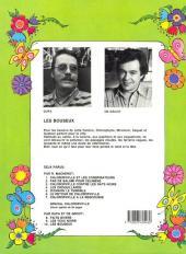 Verso de Chlorophylle (Série verte) -10- Les bouseux