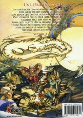 Verso de Les chroniques de Lodoss -2- La légende du chevalier héroïque 2
