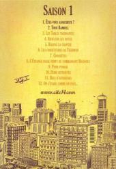 Verso de Cité 14 -2- Saison 1 : 2. Tour Bambell