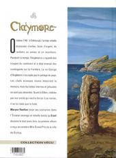 Verso de Claymore (Ersel) -2- Comme des loups affamés