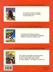 Verso de Le club des cinq (Rosenzweig/Dufossé/Marcello) -1- Le trésor du galion d'or