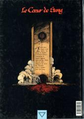 Verso de Le cœur de sang -1- Les Chevaliers-Guides