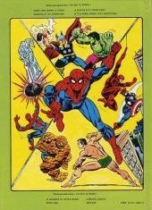 Verso de Best of Marvel (The) (Collection) -1- Le plus grand combat des 4 Fantastiques