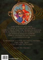 Verso de Le collège invisible -1- Cancrus Supremus