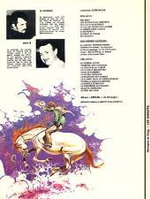 Verso de Comanche -8'- Les shériffs