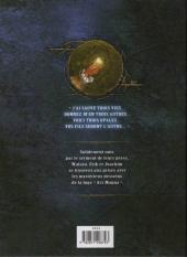 Verso de La conjuration d'opale -2- La Loge