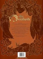 Verso de Les contes de Brocéliande -1- Livre premier: La Dryade