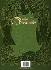 Verso de Les contes de Brocéliande -4- Du rififi en Bretagne