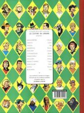 Verso de Corentin (Cuvelier) -1+2- Les extraordinaires aventures de Corentin / Les nouvelles aventures de Corentin
