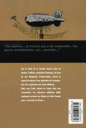 Verso de Corto (Casterman chronologique) -15- Sous le drapeau de l'argent