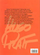 Verso de Corto Maltese -7b2001- Fable de Venise