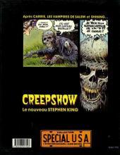 Verso de Creepshow
