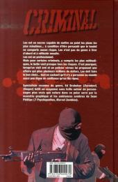 Verso de Criminal -1- Lâche !