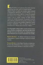 Verso de (AUT) Jacobs, Edgar P. -12- La Damnation d'Edgar P. Jacobs