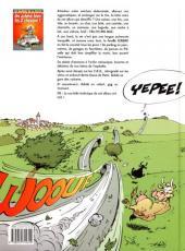 Verso de Les damnés de la route -2- L'homme qui murmurait à l'oreille des 2 chevaux