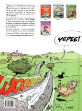 Verso de Les damnés de la route -4- Vol au dessus d'un nid de 2 chevaux