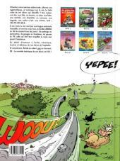 Verso de Les damnés de la route -6- Une 2 chevaux... ...nommée Désir !
