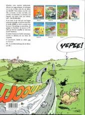 Verso de Les damnés de la route -7- 2 chevaux sur la soupe
