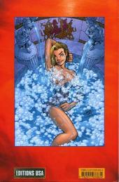 Verso de Danger Girl (Editions USA) -1- Danger Girl