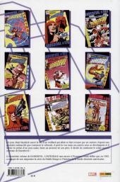 Verso de Daredevil (L'intégrale) -21982- Daredevil : L'intégrale 1982