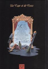Verso de De Cape et de Crocs -4TL- Le Mystère de l'île étrange