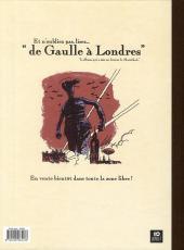 Verso de De Gaulle à la plage - Tome EA