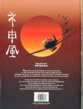 Verso de Le dernier kamikaze -2- Les Fantômes du Pacifique