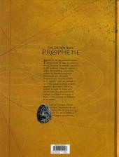 Verso de La dernière Prophétie -4- Le Livre interdit