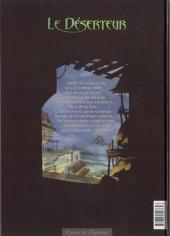 Verso de Le déserteur -1- Nuit de chagrin