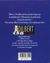 Verso de Dilbert (Vents d'Ouest) -2- Full-contact au bureau