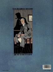 Verso de Les dossiers secrets de Maître Berger -1- L'héritier de Rochemont