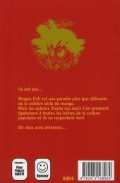 Verso de Dragon Fall -9- On vit une époque formidable