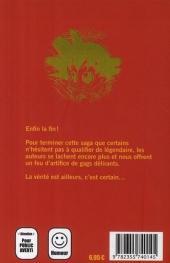 Verso de Dragon Fall -10- Méli-mélo