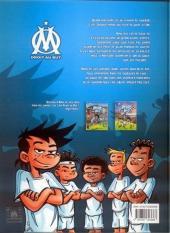 Verso de OM Droit au But ! -3- Fou de foot !