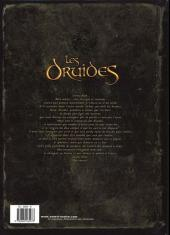 Verso de Les druides -1- Le mystère des Oghams