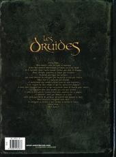 Verso de Les druides -2- Is la blanche