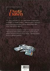 Verso de Dusty Dawn -1- L'Héritage Maléfique - 1ère partie