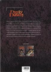 Verso de Dusty Dawn -3- L'école des désactiveurs