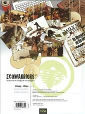 Verso de Eco Warriors -1- Orang-utan - 1