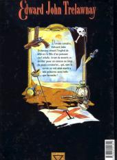 Verso de Edward John Trelawnay -2- Princesse Zéla