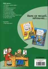 Verso de L'Élève Ducobu -BOBD- Le best of de la BD - 8