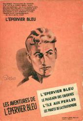 Verso de L'Épervier bleu (Dupuis) -5- L'Ennemi sous la mer