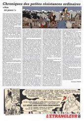 Verso de L'Étrangleur - Adèle Blanc-Sec -3- Le labyrinthe infernal!