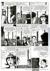 Verso de L'Étrangleur - Nestor Burma -1- L'envahissant cadavre de la Plaine Monceau
