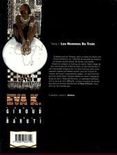 Verso de Eva K. -1- Les hommes du train