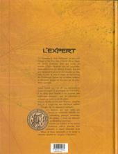 Verso de L'expert -3- L'Ombre du Connétable