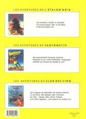 Verso de Fantômette (Les aventures de) -1- Fantômette se déchaîne